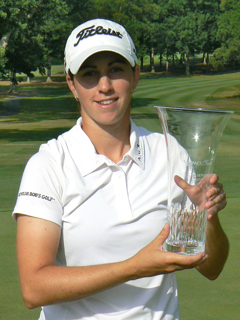Three-time Canadian Amateur champ and former LPGA player Lisa Meldrum is at Q-school this week