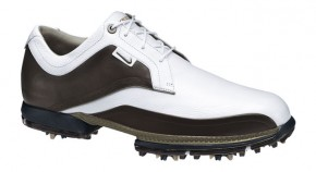The Tour Premium features soft, full-grain leather uppers for support and feel and a TPU Stabilizer that extends beyond the traditional outsole to provide more lateral support and to aid weight transfer by working with the foot's natural motion.