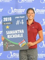 Samantha Richdale is heading for the LPGA Tour