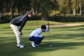 Anderson & DeLaet at the World Cup - Image courtesy of the Canadian Tour