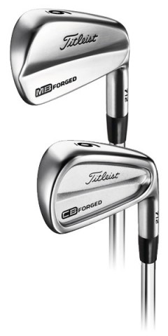 Titleist CB and MB irons