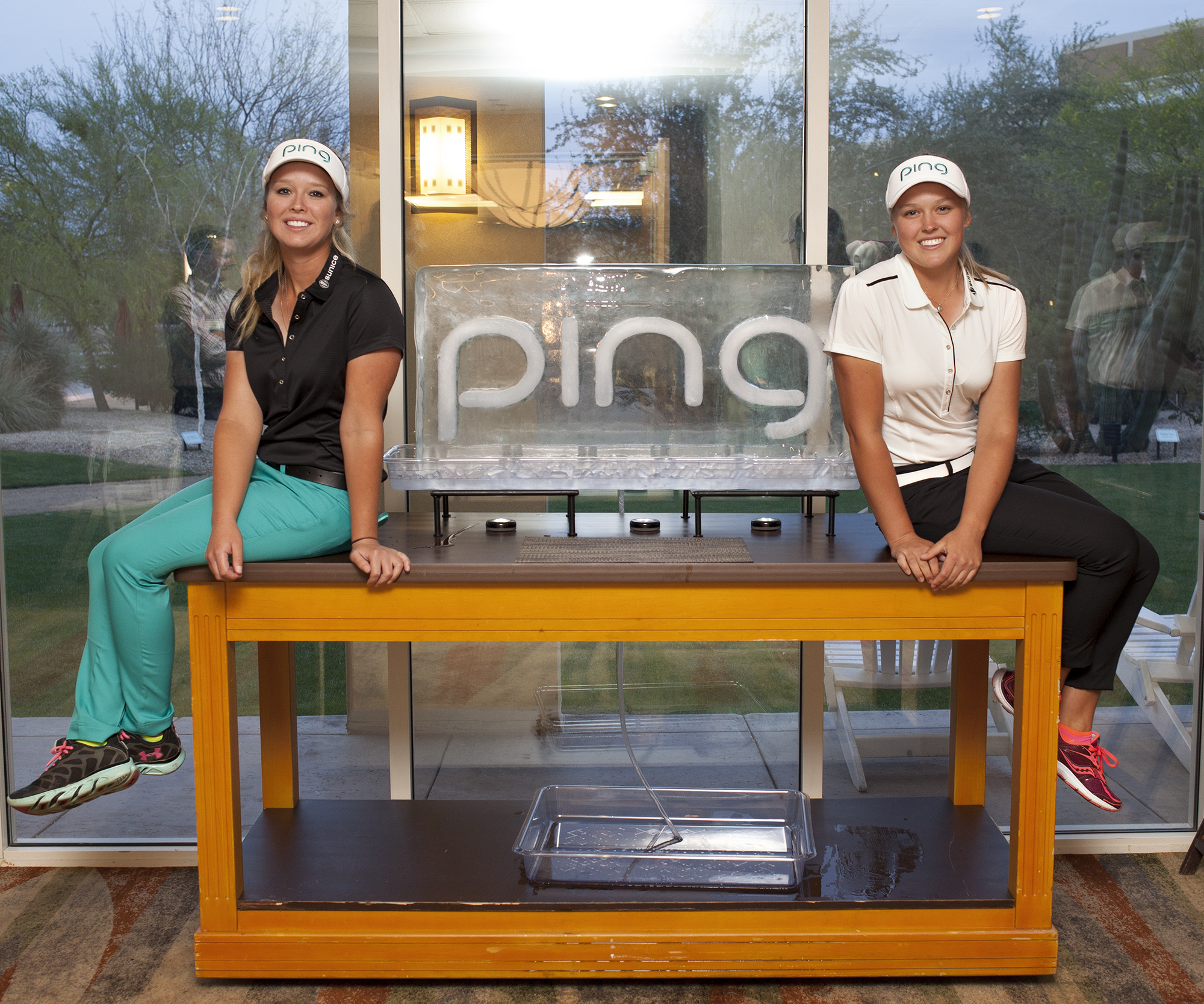 PING continues its long relationship with Brooke and Brittany Henderson