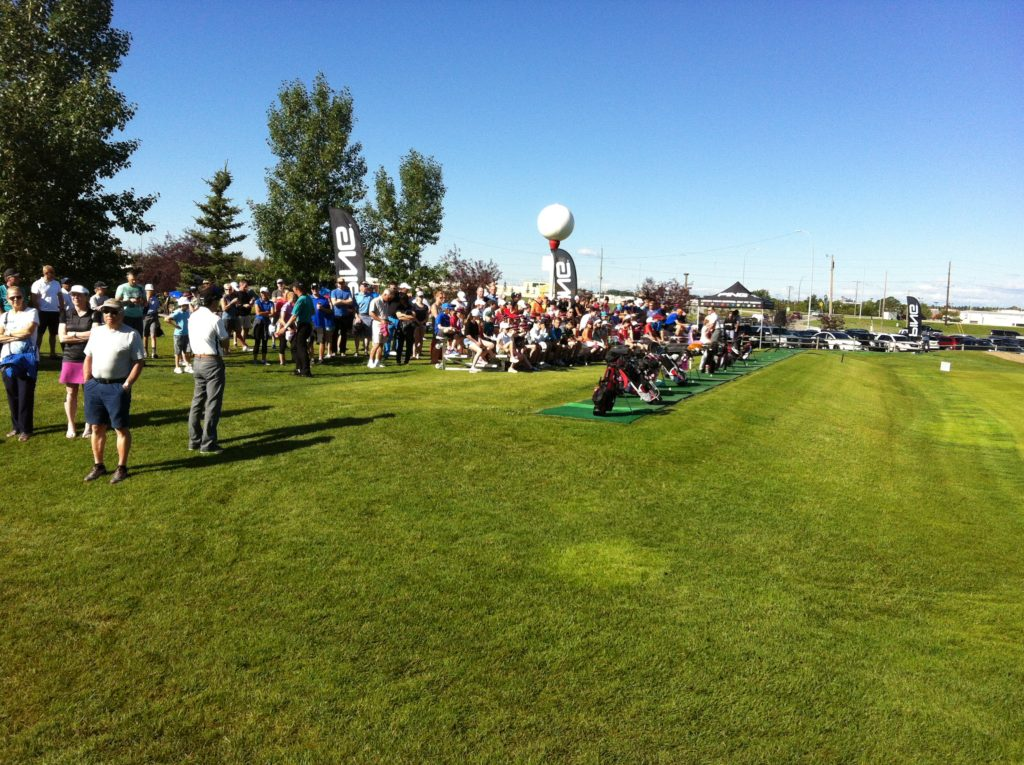 Standing room only at the Golf Canada Calgary Centre