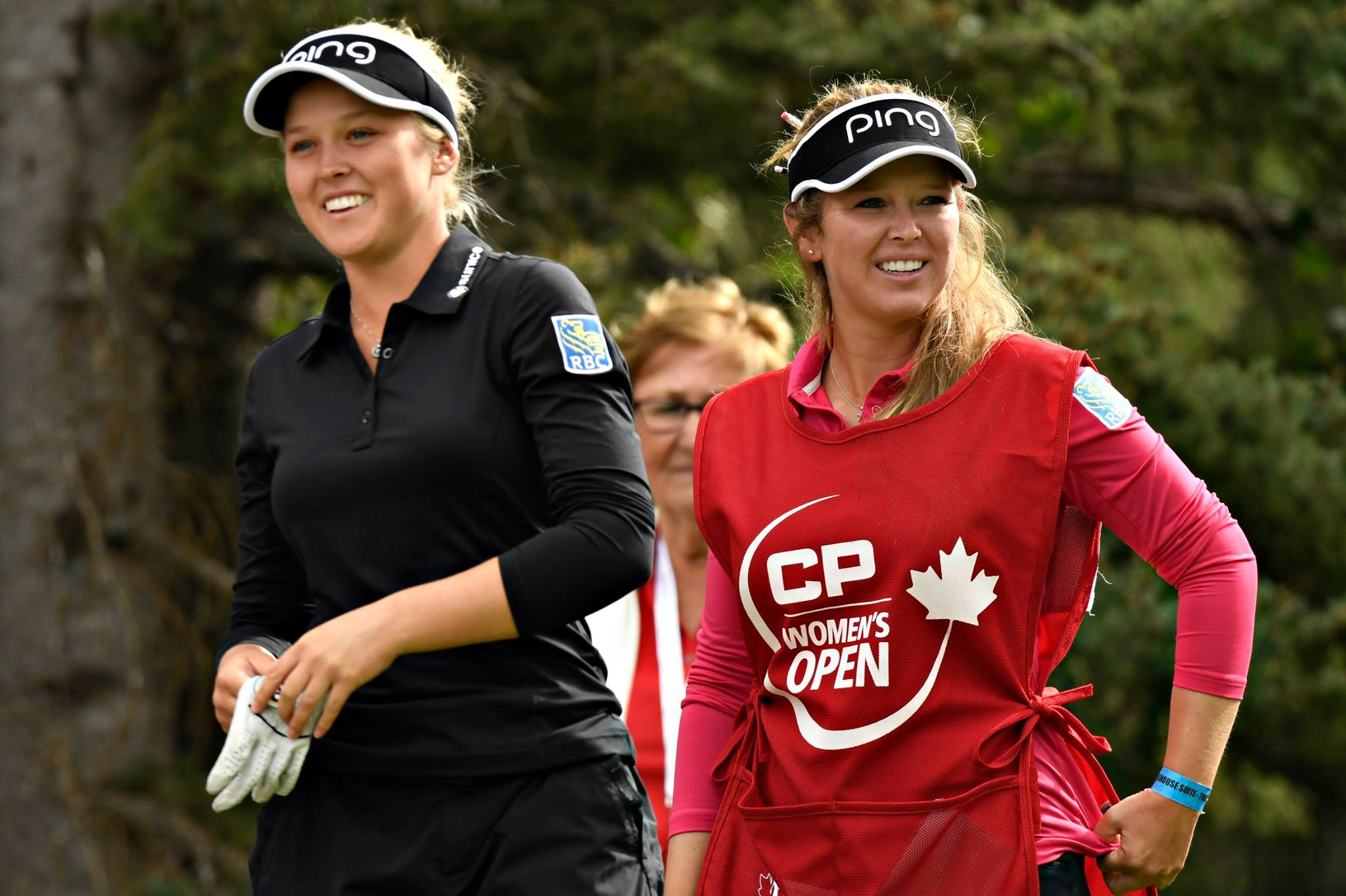 Their hometown of Smiths Falls, Ont., is holding a party Friday for Brooke and Brittany Henderson (Golf Canada Photo)