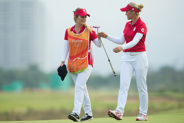 Brooke and Brittany Henderson took wise precautions against the Zika virus in Rio, but it must have been uncomfortable at times