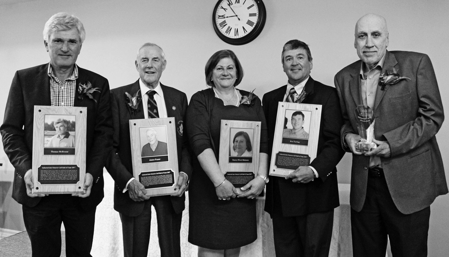 Photos Four Inducted Into Ontario Golf Hall Of Fame